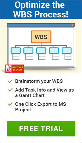 Create and optimize your WBS today with MindView